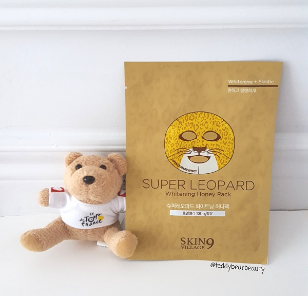 Skin 9 Village Super Leopard Whitening Honey Pack